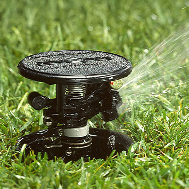 lawn sprinkler pulse