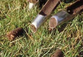 aeration plugs