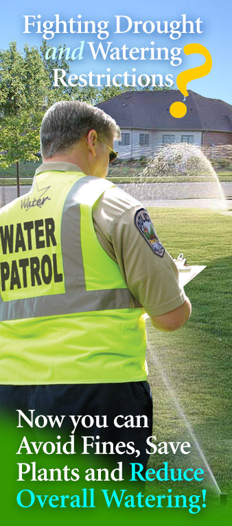 lawn service water patrol